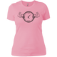 T-Shirts Light Pink / X-Small Squat O'Clock Women's XC Tee