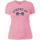 T-Shirts Light Pink / X-Small Strong AF Women's XC Tee