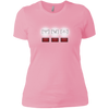 T-Shirts Light Pink / X-Small White Lights Women's XC Tee