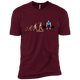 T-Shirts Maroon / X-Small Evolution (Color) XC Tee