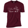 T-Shirts Maroon / X-Small Grip And Rip XC Tee