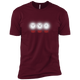 T-Shirts Maroon / X-Small White Lights XC Tee