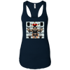 T-Shirts Midnight Navy / X-Small Big Three Women's Racerback Tank