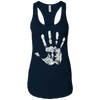 T-Shirts Midnight Navy / X-Small Chalk Up! Racerback Tank