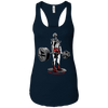 T-Shirts Midnight Navy / X-Small Dead Man's Lift Racerback Tank