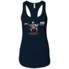 T-Shirts Midnight Navy / X-Small Dead Man's Squat Racerback Tank