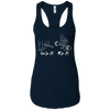 T-Shirts Midnight Navy / X-Small Grip And Rip Racerback Tank