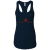 T-Shirts Midnight Navy / X-Small Heartbeat Racerback Tank