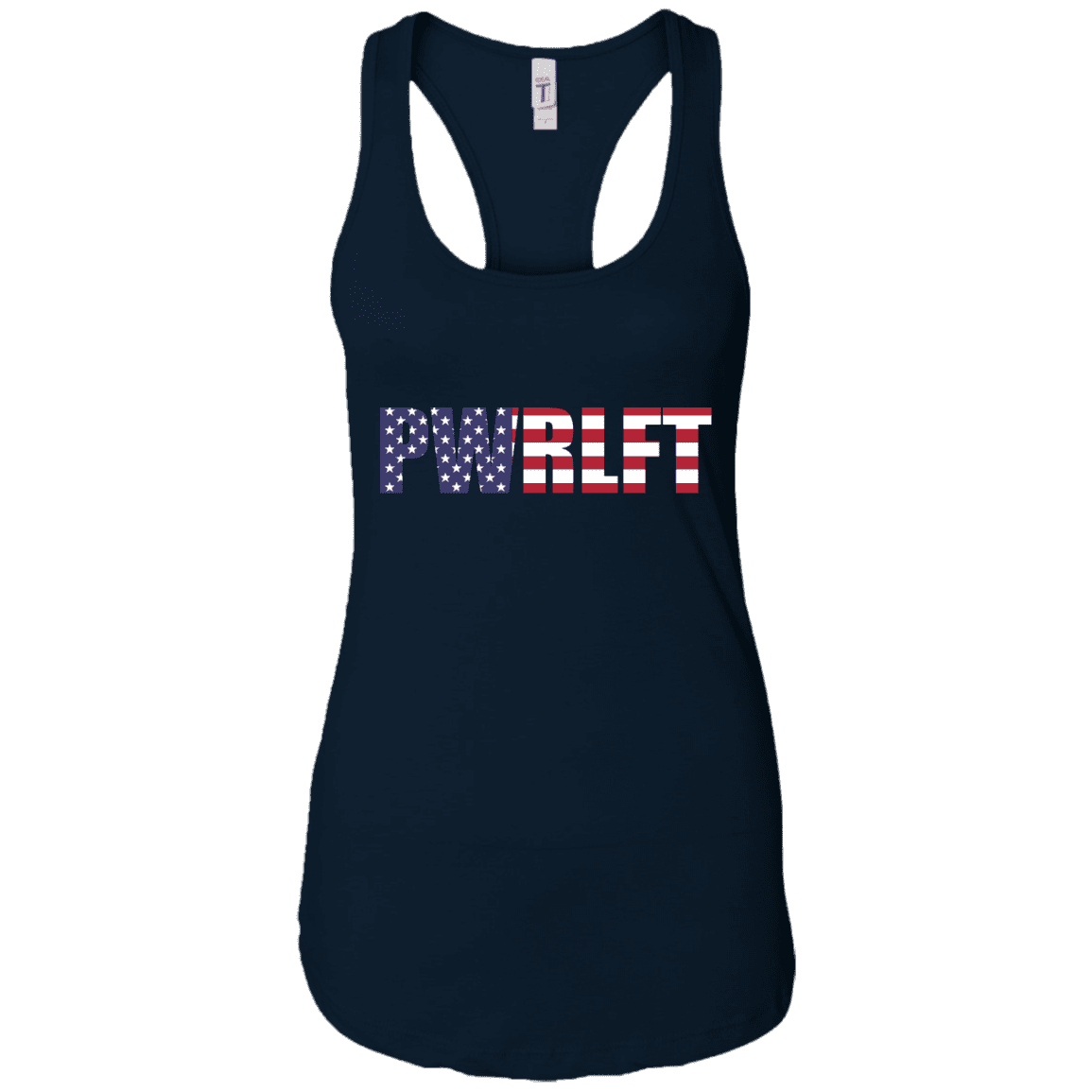 T-Shirts Midnight Navy / X-Small PWRLFT Racerback Tank