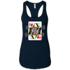 T-Shirts Midnight Navy / X-Small Queen Of Squats Racerback Tank