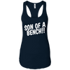 T-Shirts Midnight Navy / X-Small Son Of A Bench!! Racerback Tank