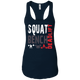 T-Shirts Midnight Navy / X-Small Squat Bench Deadlift Racerback Tank