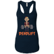 T-Shirts Midnight Navy / X-Small Undeadlift Racerback Tank