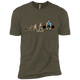 T-Shirts Military Green / X-Small Evolution (Color) XC Tee