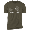 T-Shirts Military Green / X-Small Grip And Rip XC Tee