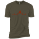 T-Shirts Military Green / X-Small Heartbeat XC Tee