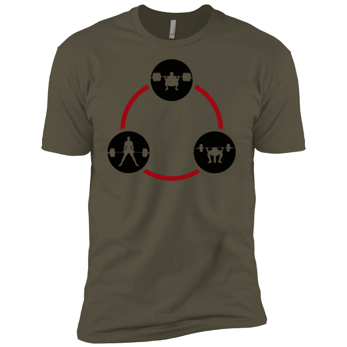 T-Shirts Military Green / X-Small Holy Trinity XC Tee