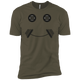 T-Shirts Military Green / X-Small Iron Smiley XC Tee