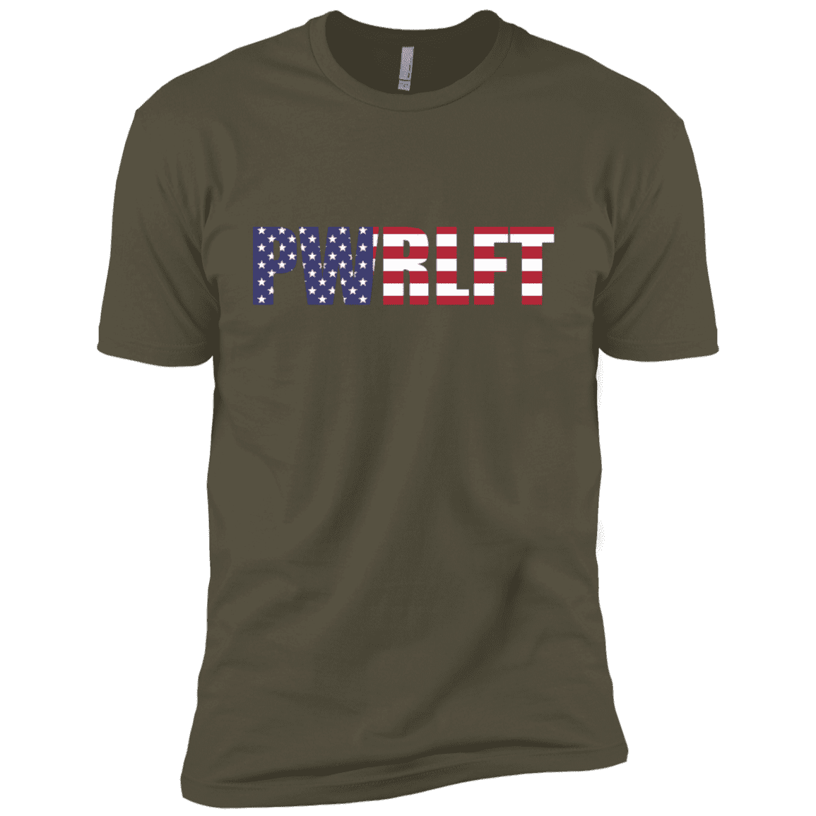 T-Shirts Military Green / X-Small PWRLFT XC Tee