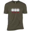 T-Shirts Military Green / X-Small White Lights XC Tee