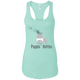 T-Shirts Mint / X-Small Poppin' Bottles Racerback Tank