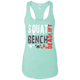 T-Shirts Mint / X-Small Squat Bench Deadlift Racerback Tank