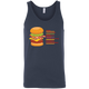 T-Shirts Navy / X-Small Anatomy Of A Burger Tank Top