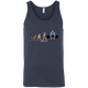 T-Shirts Navy / X-Small Evolution (Colored) Tank Top