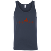 T-Shirts Navy / X-Small Heartbeat Tank Top
