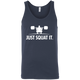 T-Shirts Navy / X-Small Just Squat It. Tank Top