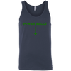 T-Shirts Navy / X-Small Power Belly Tank Top