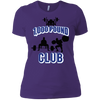 T-Shirts Purple / X-Small 1,000 Pound Club Women's XC Tee