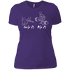 T-Shirts Purple / X-Small Grip And Rip Women's XC Tee