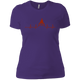 T-Shirts Purple / X-Small Heartbeat Women's XC Tee