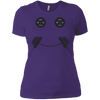 T-Shirts Purple / X-Small Iron Smiley Women's XC Tee