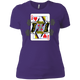 T-Shirts Purple / X-Small Queen Of Squats Women's XC Tee