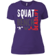 T-Shirts Purple / X-Small Squat Bench Deadlift Women's XC Tee