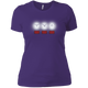 T-Shirts Purple / X-Small White Lights Women's XC Tee