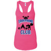 T-Shirts Raspberry / X-Small 1,000 Pound Club Racerback Tank