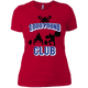 T-Shirts Red / X-Small 1,000 Pound Club Women's XC Tee
