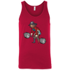 T-Shirts Red / X-Small Captain HookGrip Tank Top