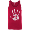 T-Shirts Red / X-Small Chalk Up! Tank Top