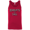 T-Shirts Red / X-Small Deadlifts And Chill Tank Top