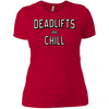 T-Shirts Red / X-Small Deadlifts And Chill Women's XC Tee