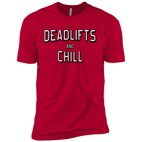 T-Shirts Red / X-Small Deadlifts And Chill XC Tee