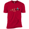 T-Shirts Red / X-Small Evolution (Color) XC Tee