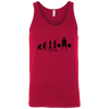 T-Shirts Red / X-Small Evolution Tank Top