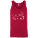 T-Shirts Red / X-Small Grip And Rip Tank Top