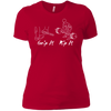 T-Shirts Red / X-Small Grip And Rip Women's XC Tee