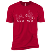 T-Shirts Red / X-Small Grip And Rip XC Tee